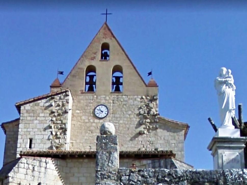 Maubec église